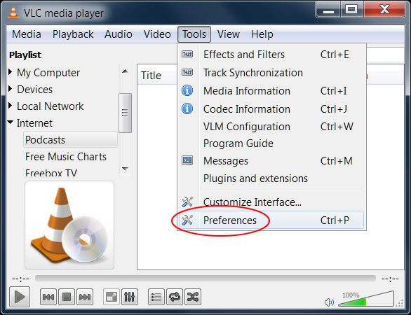 Streaming audio to iOS via VLC | s-anand net